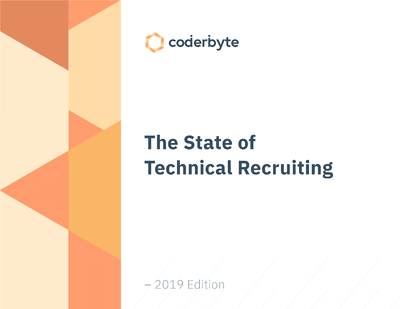 state of technical recruiting